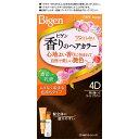 【ホーユー】ビゲン 香りのヘアカラー 乳液4D 落ち着いたライトブラウン 1セット【bigen】【ビゲン】【白髪染め】【医薬部外品】