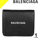 ショッピングカード バレンシアガ 財布 二つ折り財布 メンズ レディース ブランド レザー 本革 コンパクト 小銭入れ付き ブランド 黒 ブラック BALENCIAGA CASH FLAP COIN&CARD HOLDER 594216 1IZ4M