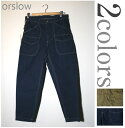 [orslow] All or low MEN'S HUNTING PANTS men hunting underwear two colors▽△