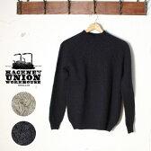 Made in ENGLAND【HACKNEY UNION WORKHOUSE】ハックニーユニオンワークハウスWinslow Crewneck Jumper・ウィンスロー クルーネック セーター全2色