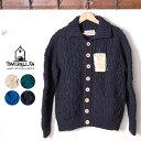 正規品【INVERALLAN】インバーアラン3A Lumber Cardigan(ランバーカーディガン)セーター ニット全4色