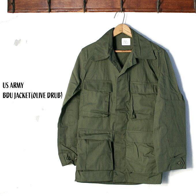 1981年製 デッドストックUS ARMY アメリカ軍BDU JACKET バトルドレスユニフォームジャケット/ユーティリティジャケットOLIVE DRUB オリーブドラブ