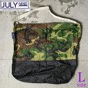 【JULY NINE】ジュライナインSUSHI SACK 2TONE L エコバック ツートーン LサイズCAMO×BLACK [ゆうパケット対応]