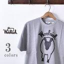 ★30%OFF SALE!【WOOLRICH ウールリッチ】CREW NECK ROUND BODY PRINT 2 TEE(NOTEE 1941)クルーネック ラウンドボディー 羊プリント Tシャツ全3色(WHITE・GRAY・BLACK)[ゆうパケット対応]