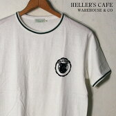 ★20%OFF♪クリアランスSALE!【HELLER'S CAFE by WARE HOUSE】ヘラーズカフェ by ウエアハウスTHE CITADEL TEETHE CITADEL TシャツWHITE ホワイト[ゆうパケット対応] mc0p1