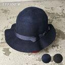 ★50%OFF♪SALE特価!MADE IN USA!【EFFANEM 】エファネム CRUSHER HAT クラッシャーハット全2色