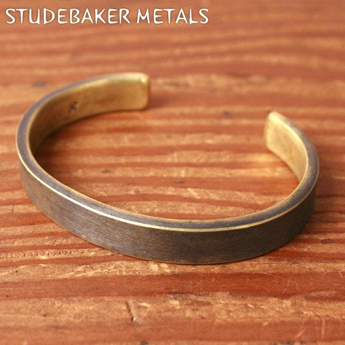 Made in USA【STUDEBAKER】スタッドベイカー・スチュードベイカーTHOMPSON CUFF BRACELET トンプソンカフブレスレットBRASS ブラス z10x