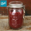 ★20%OFFスーパーSALE企画!Made in USA【Northern Lights Candles】ノーザンライツキャンドルズ12oz MASON JAR WITH HANGER CANDLES キャンドルBLACK CHERRY