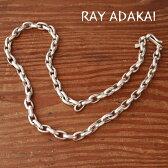 """ナバホ族【RAY ADAKAI】レイアダカイHand Made Chain 24"""" シルバーチェーン"""