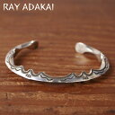 ナバホ族【RAY ADAKAI】レイアダカイZigzag BraceletジグザグブレスレットサイズMz5x