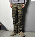 [ROTHCO] Rothco cargo pant (6 pockets forces Bakery) tiger camouflage fs2gm