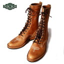 20%OFF SALE特価!Made in USA【NICKS BOOTS】ニックスブーツWelted packer 10inch ウェルトパッカー 10インチイングリッシュタンレザー