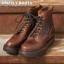 【GRIZZLY BOOTS】グリズリーブーツBLACK BEARブラックベアー(ワークブーツ)