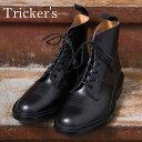 正規品 Made in England【Tricker's】トリッカーズM6895 Grassmere グラスミアイミテーションキャップトゥブーツBLACK(ブラック)
