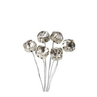 一粒ダイヤピックLL V-15 (6本入り) 【花資材】【花材】【パレ】【10P11Jan152