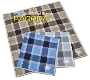 メンズハンカチーフ オリジナル ブランド PAGODAsofut コットン
