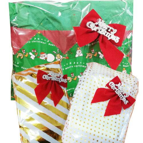 ★クリスマス簡易ラッピング★当店オリジナル おまかせラッピング 包装 ギフト 箱なし