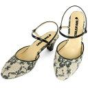 No.444211 クロールバリエ アンクルストラップ ミュール フラワーレースブラック 10P03Sep16(レディース ファッション 女性用 ミュール サンダル おしゃれ 草履 ぞうり かわいい 婦人靴 通販 楽天)