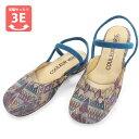 No.529203 クロールバリエ ダブルストラップサンダル リザノバパープル(レディース 女性用 サンダル おしゃれ 草履 ぞうり かわいい ストラップ21.5cm 小さい靴 22cm 23 24 25 大きい スモール 小さいサイズ) 10P03Dec16