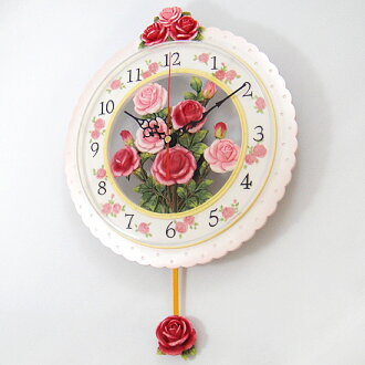 Special price rose watermark pendulum clock