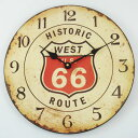 Special price Rejection cafe clock (Route 66) [10P23may13] [RCP] [marathon201305_daily] [インテ SALE 】【% OFF]