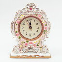 Rococo Rose table clock A [10P23may13] [RCP] [marathon201305_daily]