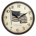 Art Wall-Clock USA flag clock [10P23may13] [RCP] [marathon201305_daily]