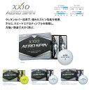 新品 2014年モデル ゼクシオ エアロスピン 1ダース(12個入り) 日本正規品 あす楽対応 ゴルフボール