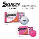 新品 2014年モデル スリクソン SOFT FEEL LADY 1ダース(12個入り) 正規品 あす楽対応 ゴルフボール