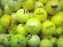 ロストボール Sクラス イエローボール色々 1球 【中古】 ゴルフ ボール