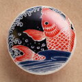薩摩ボタン|Satsuma Buttons(20mm)|SBM-082 跳鯉2|アロハタワー(アロハシャツ販売)