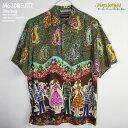アロハシャツ ジェムス・ワールド(JAMS WORLD) M630RE_JITT JITTERBUG(ジルバ) メンズ ハワイ 製 レーヨン100% (100%...