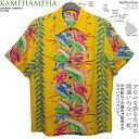 ショッピングアロハシャツ アロハシャツ|カメハメハ(KAMEHAMEHA)|kam-k20a アンスリウム(Anthurium)|イエロー|メンズ|レーヨン・フジエット100%(Rayon Fujiette100%)|ノーマル襟(レギュラーカラー/台無し)|フルオープン|半袖|アロハタワー(アロハシャツ販売)