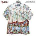 アロハシャツ ステュディオダルチザン(STUDIOD'ARTISAN) 春夏モデル<半袖> 大人の遊び着 アロハシャツ