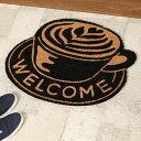 【ポイント20倍! 6/21 20:00〜7/1 23:59まで】ノースサイドコーヒー(North Side Coffee) コイヤーマット 55x65cm■インテリア 玄関マット コイヤ マット 【INTERFORM インターフォルム】【TOKYO DESIGN CHANNEL】