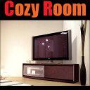 52V型液晶テレビ対応・Wii 収納可・コーナー&壁面にフレキシブルにフィット!コーナー対応テレビ台 [ KODO ] 140cm ダークブラウン[送料無料]