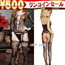 ワンコイン500円■ボディーストッキング■セクシーなボディーストッキング・フリーサイズ