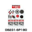 TRD 08231-SP180 ミニステッカーセット MIN...