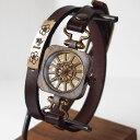 """KS(ケーエス) 手作り腕時計 """"和時計−扇流(おうぎながし..."""