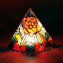 ランプ 手作りプッシュステンドピラミッド / 夏休み 工作キット 自由工作 自由研究 手作り 工作 低学年 高学年 小学校 ランプ ライト クリスマス