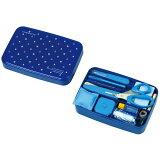 裁縫セット ソーイング うす型タイプ ブルー 小学生 女の子 男の子 / 小学校 裁縫道具 裁縫箱 ソーイングセット 1452