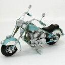 ブリキのおもちゃ|オールドバイク BLUE|ヴィンテージバイク ブリキ おもちゃ ブリキバイク アンティーク レトロ バイク ハーレータイプ