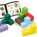 木のおもちゃ パズル【賢人パズル】知育玩具 3歳 木製 木製 玩具 エドインター 男の子 女の子