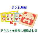 名前入り 知育玩具 3歳 木製パズル「脳活キューブ」木のおもちゃ 名入れ 積み木 ブロック エドインター 男の子 女の子 子供 幼児