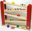 名入れ無料|くるくるスロープ|BB38木のおもちゃ スロープ 車 知育玩具 1歳 2歳 ニチガン オリジナル 転がり木製玩具 出産祝い 名入れ 名前入り