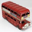 ロンドンバス ブリキ製 ヴィンテージカー L26cm ブリキ...