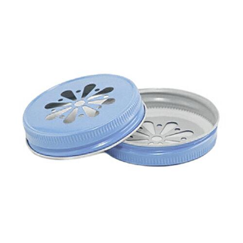 [SUPER PRICE] Sky Blue Regular Mouth Daisy Complete Lid レギュラーマウス用 デイジーフタ スカイブルー 1個