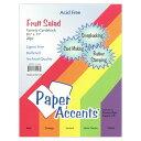 Paper Accent バラエティペーパーパック 約21×28cm 20枚入 [フルーツサラダ] / Snippets Variety Pk 8.5×11 inch [Fruit Salad] 20pc