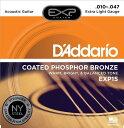 D'Addario(ダダリオ)のコーティング弦EXP15 エクストラライトゲージ