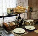 ステンレス棚キッチンカウンターラック【棚1段 幅ワイド】
